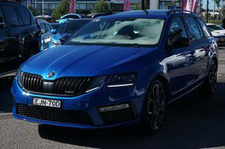 2019 Skoda Octavia NE MY20 RS DSG 245 Blue 7 Speed Sports Automatic Dual Clutch Wagon