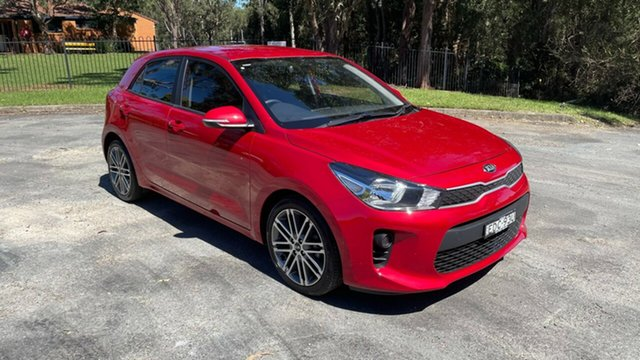 Used Kia Rio YB MY19 Sport Port Macquarie, 2019 Kia Rio YB MY19 Sport Signal Red 6 Speed Automatic Hatchback