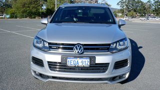 2013 Volkswagen Touareg 7P MY14 V8 TDI Tiptronic 4MOTION R-Line Silver 8 Speed Sports Automatic