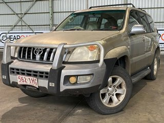 2004 Toyota Landcruiser Prado GRJ120R GXL Gold 5 Speed Manual Wagon