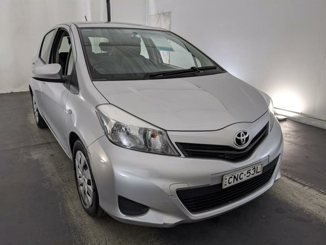 Used Toyota Yaris NCP131R YRS Maryville, 2013 Toyota Yaris NCP131R YRS Silver 4 Speed Automatic Hatchback
