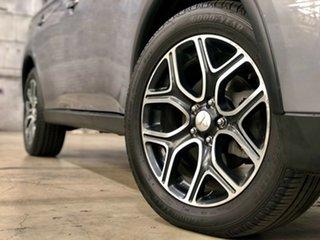2014 Mitsubishi Outlander ZJ MY14.5 Aspire 4WD Grey 6 Speed Constant Variable Wagon