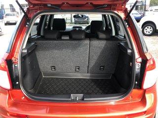2007 Suzuki SX4 GYB Orange 4 Speed Automatic Hatchback