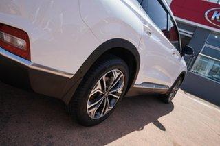 2019 Hyundai Santa Fe TM.2 MY20 Highlander CRDi Burg (AWD) White 8 Speed Automatic Wagon