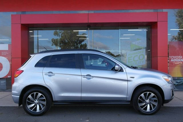 Pre-Owned Mitsubishi ASX XB MY15 XLS Swan Hill, 2015 Mitsubishi ASX XB MY15 XLS Silver 6 Speed Sports Automatic Wagon