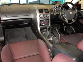 2005 Holden Commodore VZ SV6 Red 6 Speed Manual Sedan.