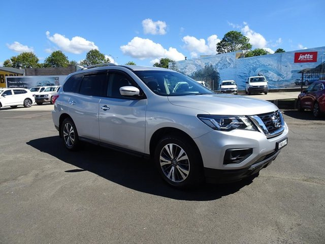 Used Nissan Pathfinder R52 Series II MY17 ST X-tronic 4WD Nowra, 2017 Nissan Pathfinder R52 Series II MY17 ST X-tronic 4WD Brilliant Silver 1 Speed Automatic Wagon