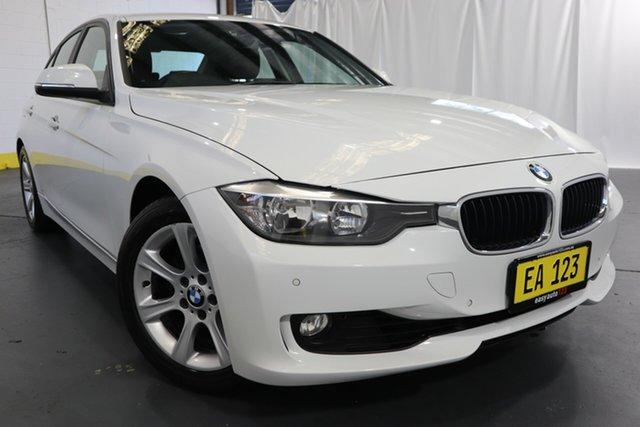 Used BMW 3 Series F30 MY0813 320i Castle Hill, 2013 BMW 3 Series F30 MY0813 320i White 8 Speed Sports Automatic Sedan