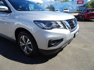 2017 Nissan Pathfinder R52 Series II MY17 ST X-tronic 4WD Brilliant Silver 1 Speed Automatic Wagon