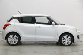 2017 Suzuki Swift AZ GL Navigator White 1 Speed Constant Variable Hatchback