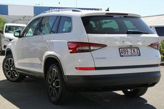 2019 Skoda Kodiaq NS MY20 132TSI DSG Candy White 7 Speed Sports Automatic Dual Clutch Wagon.