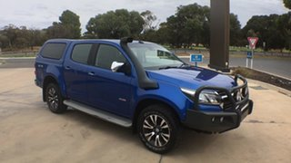 2017 Holden Colorado RG MY18 LTZ Pickup Crew Cab Power Blue 6 Speed Sports Automatic Utility