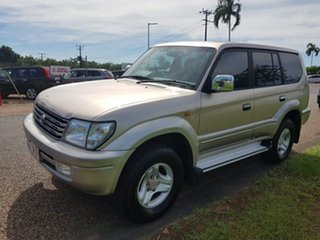 2002 Toyota Landcruiser Prado VZJ95R Grande Gold 4 Speed Automatic Wagon.