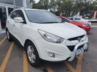 2013 Hyundai ix35 LM2 Elite White 6 Speed Sports Automatic Wagon