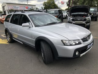 2005 Holden Adventra VZ LX6 Silver 5 Speed Automatic Wagon.