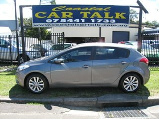 2015 Kia Cerato YD S Silver 6 Speed Automatic Hatchback.