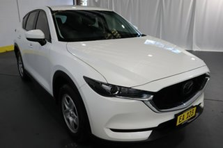 2019 Mazda CX-5 KF2W7A Maxx SKYACTIV-Drive FWD White 6 Speed Sports Automatic Wagon.