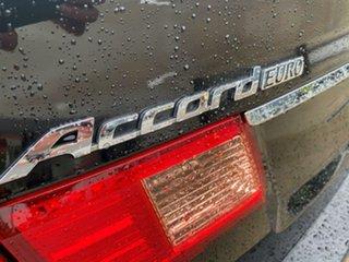 2011 Honda Accord Euro CU MY11 Black 5 Speed Automatic Sedan