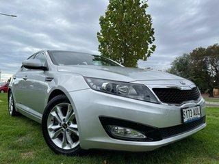 2012 Kia Optima TF MY12 SI Silver 6 Speed Sports Automatic Sedan.