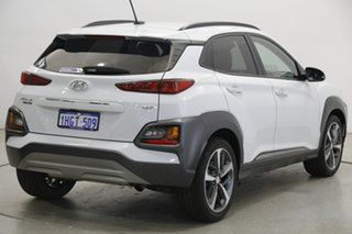 2019 Hyundai Kona OS.2 MY19 Highlander D-CT AWD White 7 Speed Sports Automatic Dual Clutch Wagon