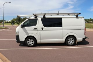 2014 Toyota HiAce TRH201R MY14 LWB French Vanilla 5 Speed Manual Van