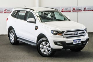 2017 Ford Everest UA MY18 Ambiente (4WD 5 Seat) White 6 Speed Automatic SUV.