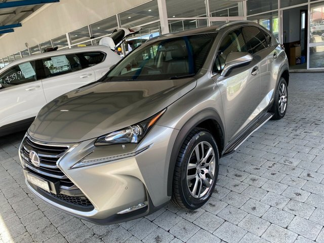 Used Lexus NX Taree, 2014 Lexus NX NX300h - Luxury Gold Constant Variable Wagon