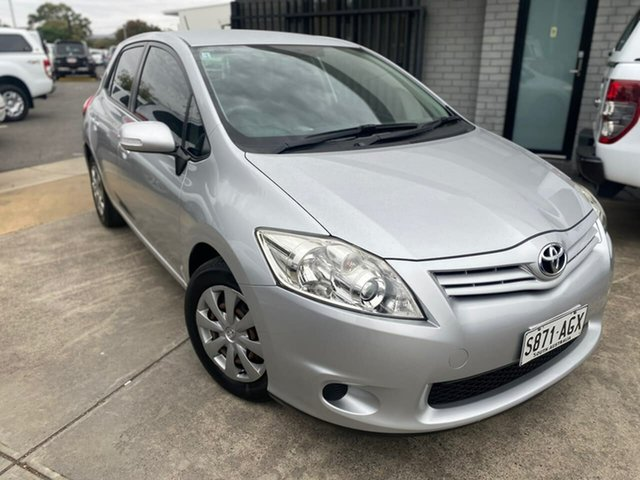 Used Toyota Corolla ZRE152R MY10 Ascent Hillcrest, 2010 Toyota Corolla ZRE152R MY10 Ascent Silver 6 Speed Manual Sedan