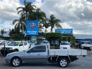 2004 Ford Falcon BA XL Grey 4 Speed Automatic Cab Chassis