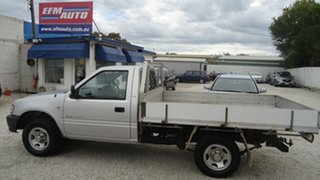 2002 Holden Rodeo TF MY02 LX 4x2 Silver 5 Speed Manual Cab Chassis.