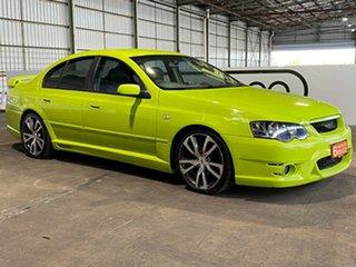 2005 Ford Falcon BF XR6 Turbo Green 6 Speed Sports Automatic Sedan.