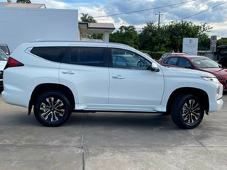 2021 Mitsubishi Pajero Sport QF MY21 GLS White 8 Speed Sports Automatic Wagon.