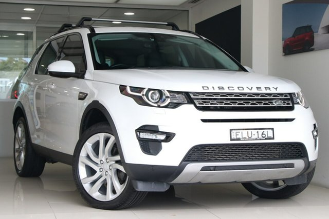 Used Land Rover Discovery Sport L550 16.5MY HSE Brookvale, 2016 Land Rover Discovery Sport L550 16.5MY HSE White 9 Speed Sports Automatic Wagon