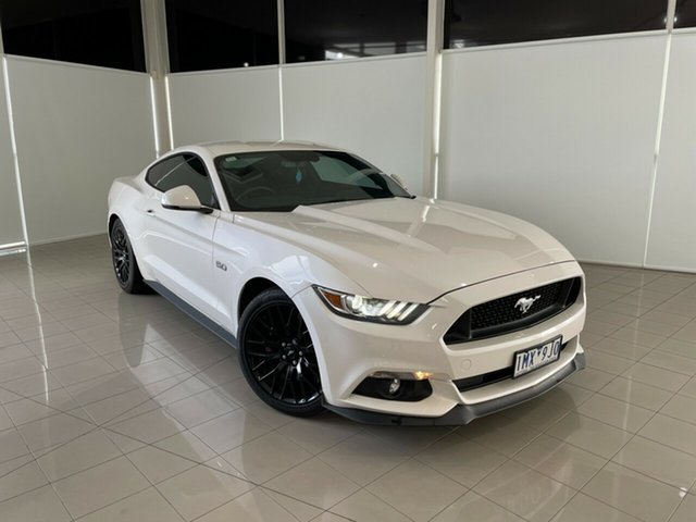 Used Ford Mustang FM 2017MY GT Fastback SelectShift Deer Park, 2017 Ford Mustang FM 2017MY GT Fastback SelectShift White 6 Speed Sports Automatic Fastback