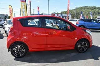 2015 Holden Barina Spark MJ MY15 CD Red 4 Speed Automatic Hatchback.