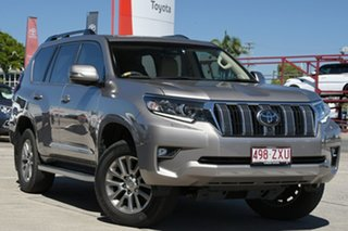 2019 Toyota Landcruiser Prado GDJ150R Kakadu Dusty Bronze 6 Speed Sports Automatic Wagon.