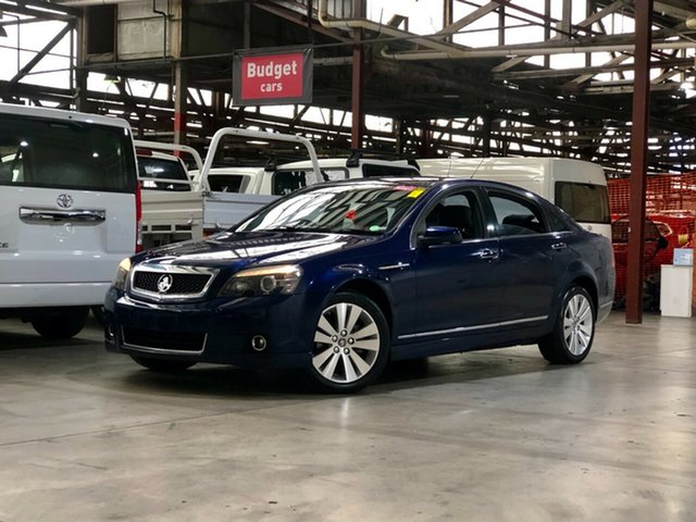 Used Holden Caprice WM Mile End South, 2006 Holden Caprice WM Blue 5 Speed Sports Automatic Sedan
