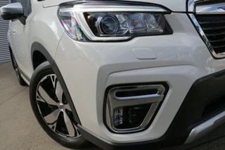 2020 Subaru Forester MY20 2.5I-S (AWD) Crystal White Continuous Variable Wagon.