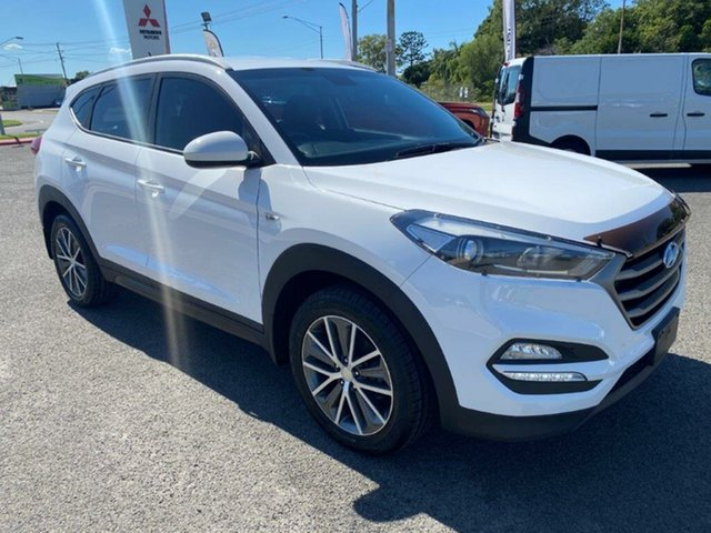 Used Hyundai Tucson TL Active X 2WD Gladstone, 2015 Hyundai Tucson TL Active X 2WD White 6 Speed Sports Automatic Wagon