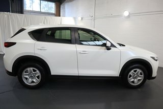 2019 Mazda CX-5 KF2W7A Maxx SKYACTIV-Drive FWD White 6 Speed Sports Automatic Wagon