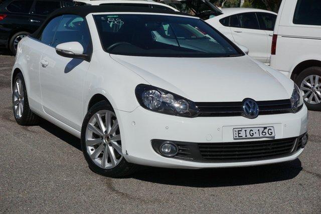 Used Volkswagen Golf VI MY14 118TSI DSG Phillip, 2014 Volkswagen Golf VI MY14 118TSI DSG White 7 Speed Sports Automatic Dual Clutch Cabriolet
