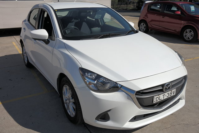 Used Mazda 2 DJ2HA6 Maxx SKYACTIV-MT Maryville, 2016 Mazda 2 DJ2HA6 Maxx SKYACTIV-MT White 6 Speed Manual Hatchback
