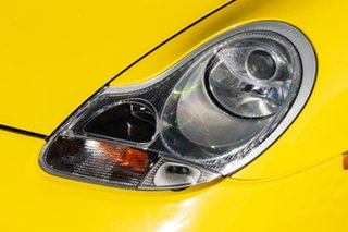 2001 Porsche Boxster 986 MY02 S Yellow 6 Speed Manual Convertible
