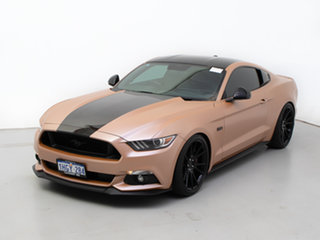 2017 Ford Mustang FM MY17 Fastback GT 5.0 V8 Silver 6 Speed Manual Coupe