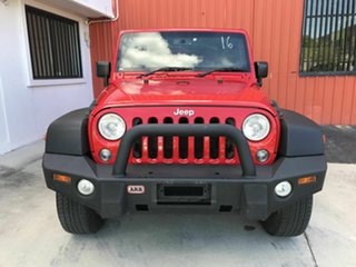 2017 Jeep Wrangler JK MY17 Sport Red 5 Speed Automatic Softtop.