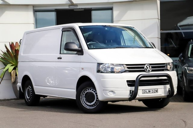 Used Volkswagen Transporter T5 MY11 Low Roof DSG Sutherland, 2011 Volkswagen Transporter T5 MY11 Low Roof DSG White 7 Speed Sports Automatic Dual Clutch Van