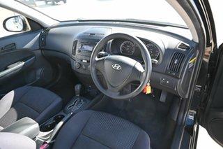2010 Hyundai i30 FD MY10 SX cw Wagon Black 4 Speed Automatic Wagon