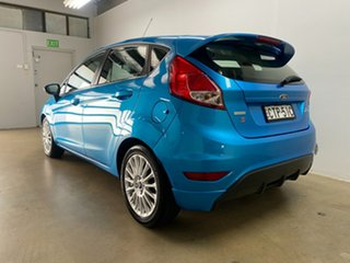 2014 Ford Fiesta WZ Sport Blue 6 Speed Automatic Hatchback