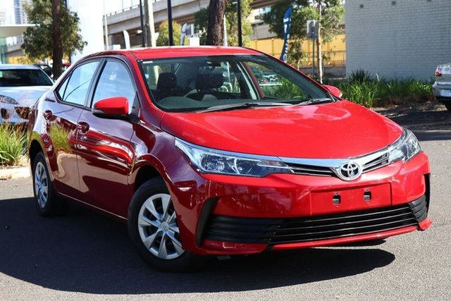 Used Toyota Corolla ZRE172R Ascent S-CVT South Melbourne, 2018 Toyota Corolla ZRE172R Ascent S-CVT Wildfire 7 Speed Constant Variable Sedan