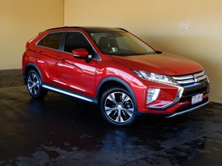 2017 Mitsubishi Eclipse Cross YA Exceed (2WD) Red Continuous Variable Wagon